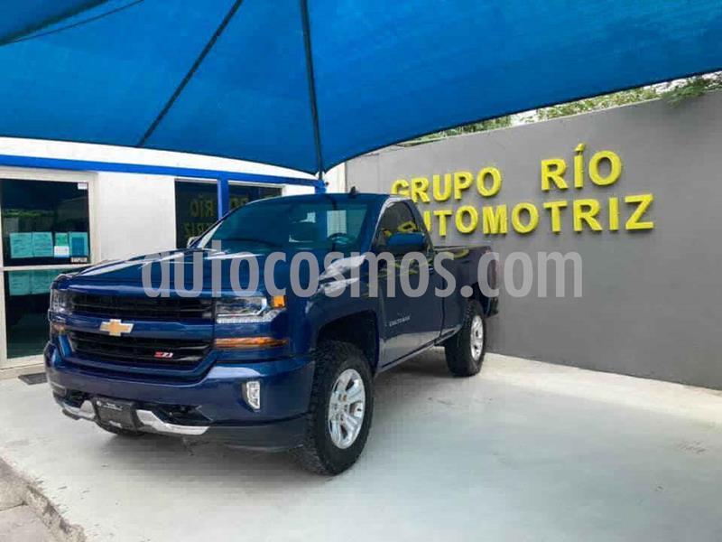 Chevrolet Cheyenne 2500 4x4 Cab Reg LT Z71 usado (2017) color Azul precio $490,000