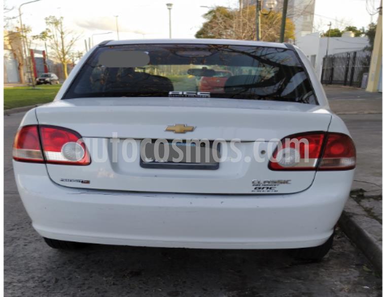 Chevrolet Classic 4P LT Spirit Pack usado (2014) color Blanco precio $390.000