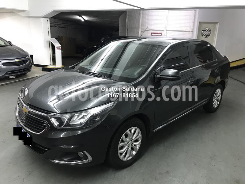 Chevrolet Cobalt LTZ usado (2017) color Gris Oscuro precio $650.000