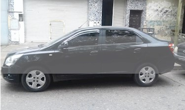 Chevrolet Cobalt LT  usado (2013) color Negro precio $350.000