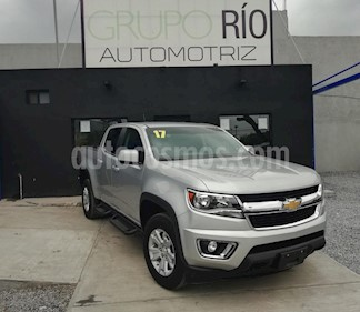 Foto venta Auto usado Chevrolet Colorado 3.5L 4x4 Cabina Doble Paq B (2017) color Plata precio $519,000