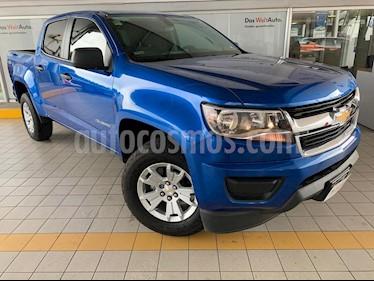 Foto venta Auto usado Chevrolet Colorado LT 4x2 (2018) color Azul Metalico precio $469,900
