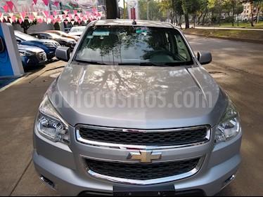 Foto venta Auto usado Chevrolet Colorado LT 4x4 (2014) color Gris Plata  precio $275,000
