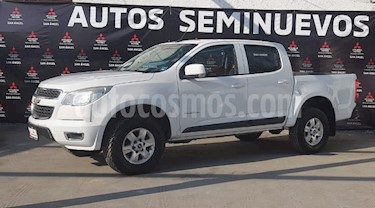Chevrolet Colorado 3.5L 4x2 Cabina Doble Paq C usado (2017) color Blanco precio $420,000