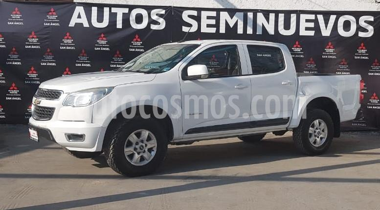 Chevrolet Colorado 2.9L 4x2 Cabina Doble Paq A usado (2017) color Blanco precio $385,000