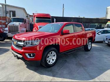 Chevrolet Colorado 3.5L 4x4 Cabina Doble Paq B  usado (2018) color Rojo precio $489,800