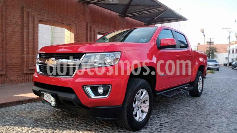 Chevrolet Colorado 3.5L 4x4 Cabina Doble Paq B  usado (2018) color Rojo precio $490,000