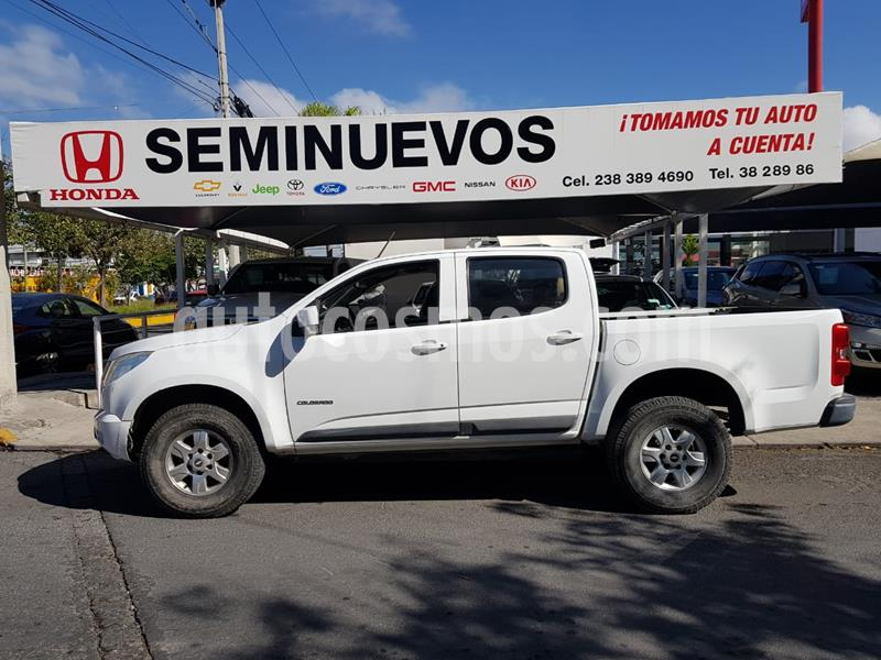Chevrolet Colorado 3.5L 4x4 Cabina Doble Paq B usado (2015) color Blanco precio $289,000