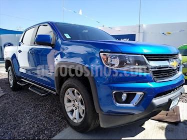 Chevrolet Colorado LT DOBLE CABINA 4X4 usado (2018) color Azul Electrico precio $510,000