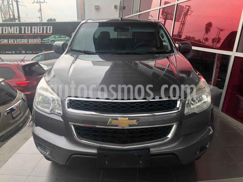 Chevrolet Colorado 2.9L 4x2 Cabina Doble Paq A  usado (2013) color Gris precio $275,000