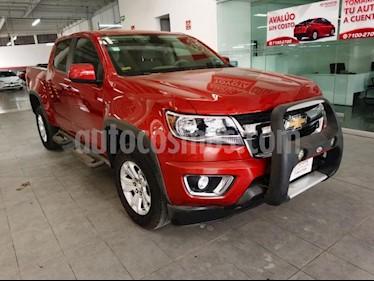 Chevrolet Colorado 4P WT V6 3.6L TA A/AC. F. NIEBLA 4X4 usado (2016) color Rojo precio $360,000