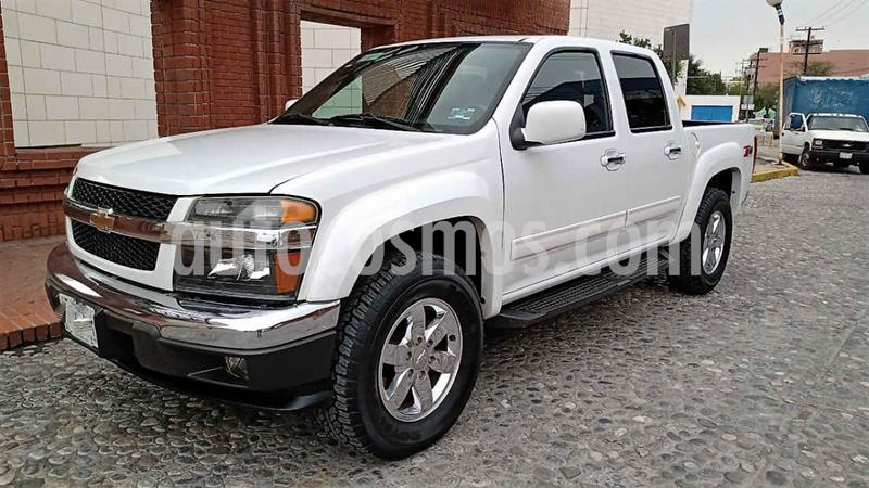 Chevrolet Colorado 3.5L 4x4 Cabina Doble Paq B  usado (2011) color Blanco precio $185,000