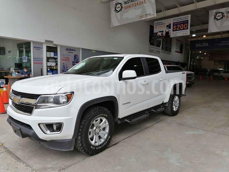 Chevrolet Colorado 3.5L 4x4 Cabina Doble Paq B  usado (2018) color Blanco precio $480,000