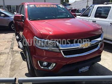 Chevrolet Colorado WT, 4X4, TA, ECOTEC3 3.6L 6CIL, 5 PASAJEROS, ONST usado (2016) color Rojo precio $385,000