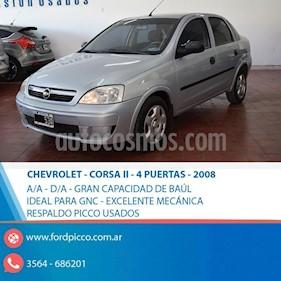 Foto venta Auto usado Chevrolet Corsa 4P GL Pack II  (2008) color Gris Claro precio $188.000