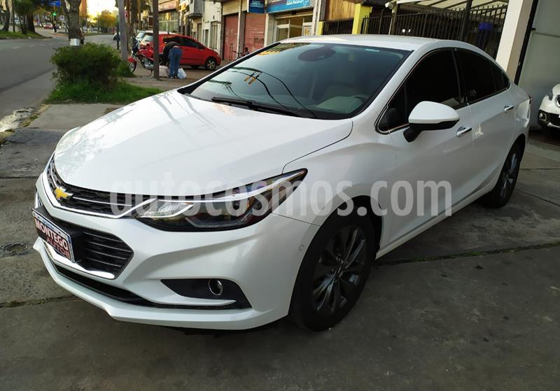 Chevrolet Cruze 5 LTZ + Aut usado (2018) color Blanco Perla precio $1.825.000