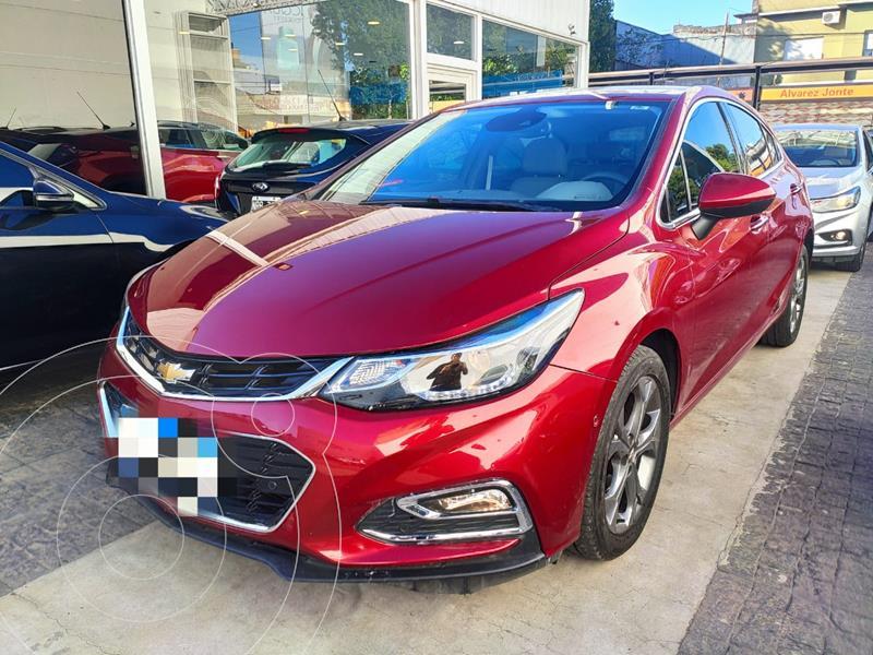 Chevrolet Cruze 5 LTZ + Aut usado (2017) color Rojo precio $2.129.900