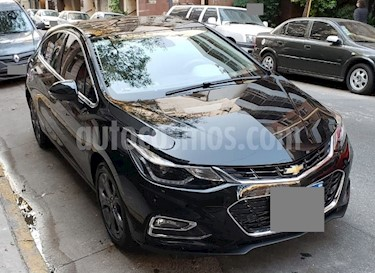 Chevrolet Cruze 5 LTZ Aut usado (2017) color Negro precio $1.454.900