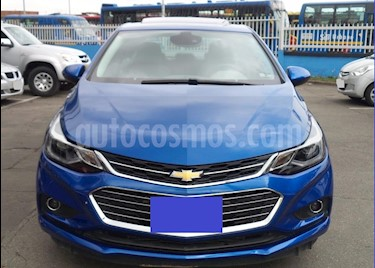 Chevrolet Cruze 5 LTZ Aut usado (2017) color Azul precio $1.000.000