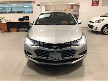 Foto venta Auto usado Chevrolet Cruze 1.4 PREMIER D TURBO AT 4P (2017) color Plata Brillante precio $287,000