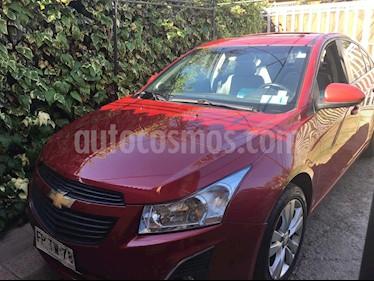 Chevrolet Cruze 1.8 LS Aut Full usado (2013) color Rojo Burdeos precio $7.560.000
