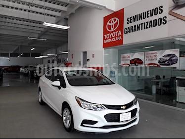Foto venta Auto usado Chevrolet Cruze 4p LS L4/1.4/T Aut (2018) color Blanco precio $240,000