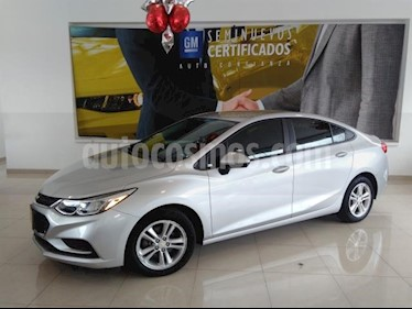 Foto venta Auto usado Chevrolet Cruze 4p LS L4/1.4/T Aut (2017) color Plata precio $261,900