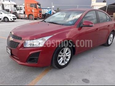 Chevrolet Cruze 4p LS L4/1.8 Aut usado (2014) color Rojo precio $149,000