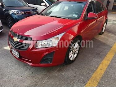 Foto venta Auto usado Chevrolet Cruze 4p LS L4/1.8 Aut (2014) color Rojo precio $149,000