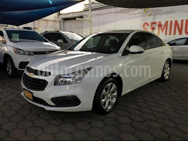 Chevrolet Cruze 4P LS TM5 CD BA RA-16 usado (2016) color Blanco precio $175,000