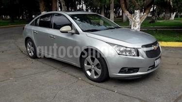 Foto venta Auto usado Chevrolet Cruze 4p LT L4/1.8 Aut Q/C (2012) color Plata precio $119,000