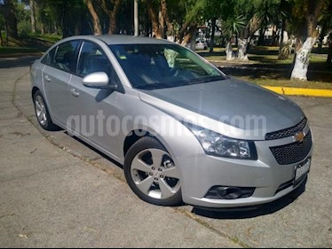 Foto venta Auto usado Chevrolet Cruze 4p LT L4/1.8 Aut (2012) color Plata precio $122,000