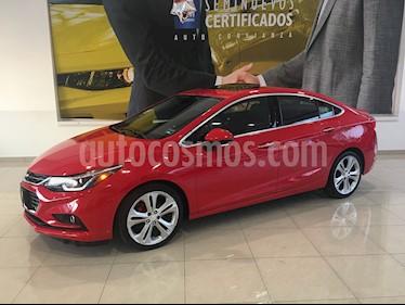 Foto venta Auto usado Chevrolet Cruze 4p Premier L4/1.4/T Aut. Linea Nueva (2016) color Rojo precio $235,000