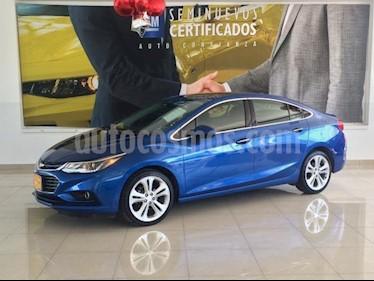 Foto venta Auto usado Chevrolet Cruze 4p Premier L4/1.4/T Aut (2017) color Azul precio $298,900