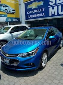 Foto venta Auto usado Chevrolet Cruze 4p Premier L4/1.4/T Aut (2017) color Azul precio $305,000