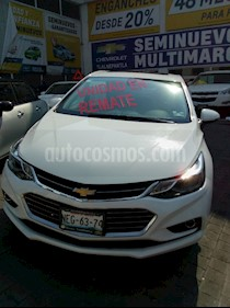 Foto venta Auto usado Chevrolet Cruze 4p Premier L4/1.4/T Aut (2018) color Blanco precio $335,000