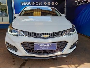 Chevrolet Cruze CRUZE 1.4 5 PTAS LTZ+ AT usado (2017) color Blanco precio $1.200.000