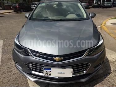 Chevrolet Cruze 1.4  LTZ usado (2018) color Gris Oscuro precio $1.100.000