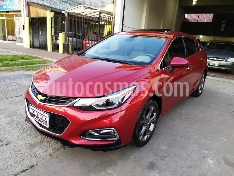 Chevrolet Cruze LTZ Aut usado (2017) color Rojo Cerezo precio $1.780.000