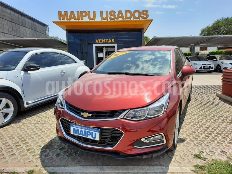 Chevrolet Cruze LT usado (2018) color Rojo Cerezo precio $1.600.000