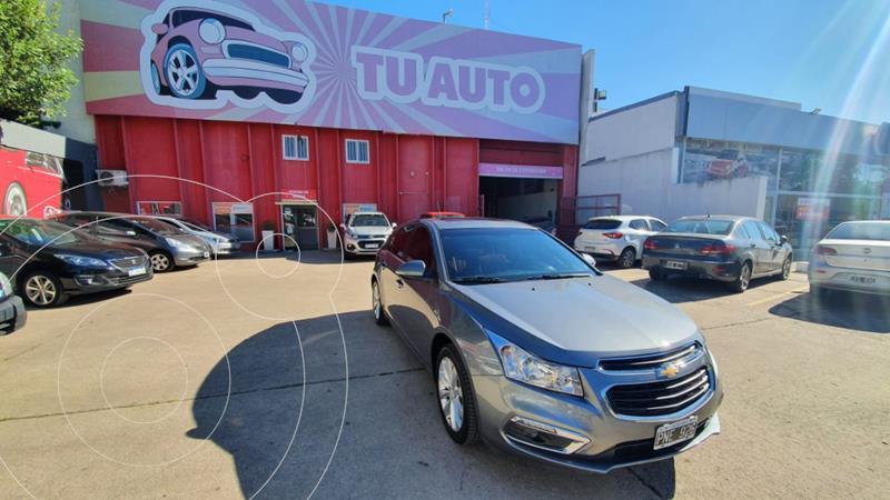Chevrolet Cruze LT usado (2017) color Gris Oscuro precio $1.990.000