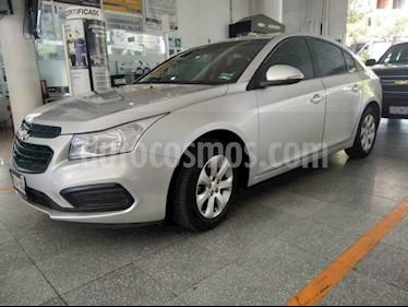 Chevrolet Cruze LS  usado (2016) color Plata precio $165,000