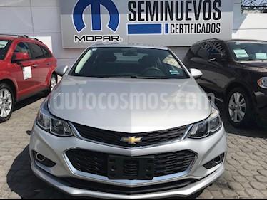 Foto venta Auto usado Chevrolet Cruze LT Aut (2017) color Plata precio $235,000