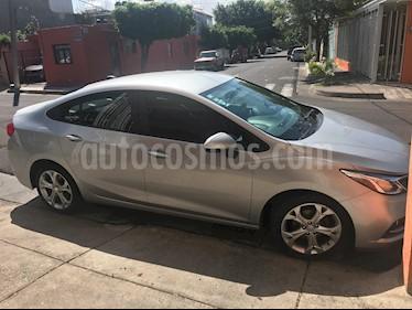 Chevrolet Cruze LT Aut usado (2017) color Plata precio $192,000