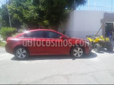 Chevrolet Cruze LT Piel Aut usado (2012) color Rojo precio $112,000