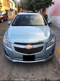 Foto Chevrolet Cruze LT Piel Aut usado (2013) color Azul Claro precio $140,000