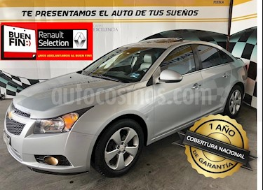 Foto venta Auto Seminuevo Chevrolet Cruze LT Piel Aut (2012) color Plata