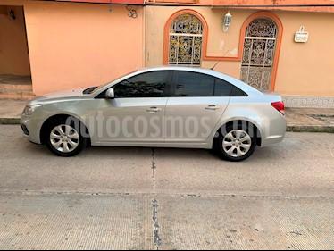 Foto venta Auto usado Chevrolet Cruze LT Tela Aut (2016) color Gris Platino precio $200,000