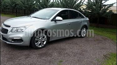 Chevrolet Cruze LT  usado (2016) color Plata precio $265,000