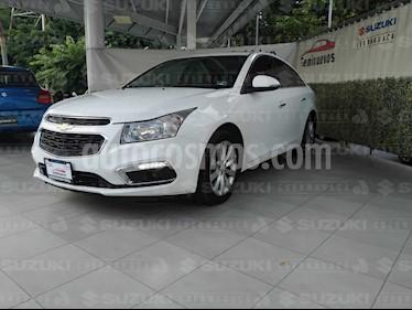 Foto Chevrolet Cruze LTZ Turbo Aut usado (2015) color Blanco Galaxia precio $194,000